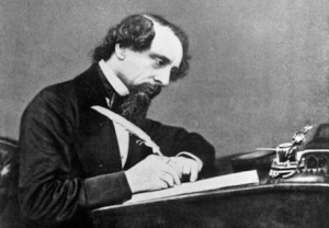 DICKENS WRITING