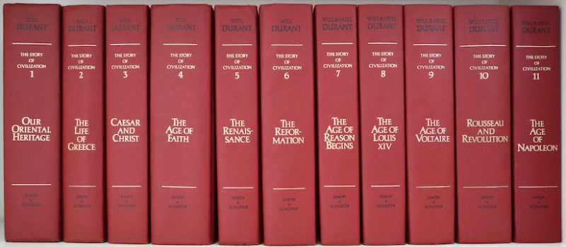 11_volumes_of_the_Story_of_Civilization_by Durant
